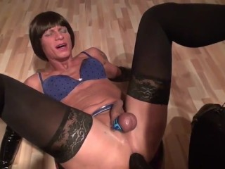 shemale whore pounded and fisted