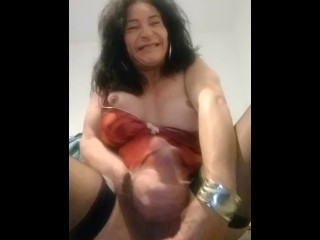 cougar British transexual explodes
