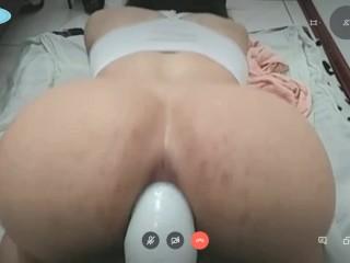 Amateur ladyboy anal dildo gape cam
