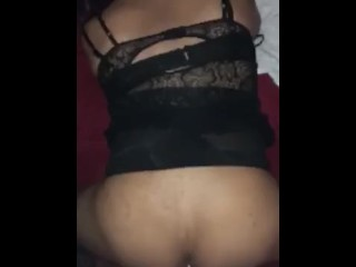 fat hispanic t-girl gets nailed by a big dick