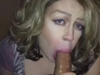 tranny begs for dong