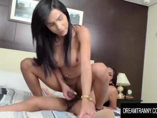 Dream tranny - Sultry Hung ladyboy Yasmin Dornelles Compilation Part 1