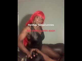Two large rod DL bros turn two ebony tranny sisters into sum raw chicks