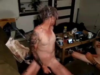 transsexual Playswith Her broad rod while BF watches