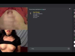 omegle webcam cute ladyboy trap tricks lover into climaxing fast for her