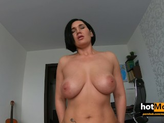 step Mom gives a lesson to step Son how to treat a broad